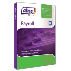 ABSS (Formerly known as MYOB) Payroll Version 8 (Single User)